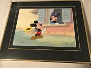 Disney Commemorative Cell Mickey And Minnie