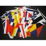Giant Nautical Bunting 25m 40 Large Flags - Harbour Banner Sailing Boats Ships