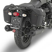 Side Panniers Givi Mt501 + Frame Tmt8201 Motorcycle Guzzi V7 Iii Stone - Special