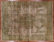 9and039 9 X 12and039 6 Overdyed Hand Knotted Rug - H8919