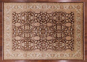 Hand Knotted Peshawar Wool Rug 8and039 9 X 12and039 3 - H9419