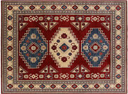 8and039 5 X 11and039 4 Kazak Hand-knotted Area Rug - W554