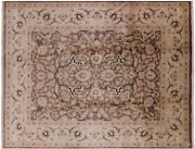 8and039 0 X 10and039 3 Peshawar Hand Knotted Rug - W2091