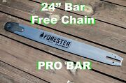 25 Forester Platinum Pro Tip Bar W/free Chain,fits Stihl Ms311 To Ms660 3/8