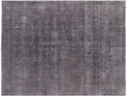 9' 6 X 12' 6 Overdyed Hand Knotted Wool Rug - P3878
