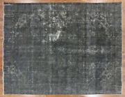 9and039 9 X 12and039 6 Overdyed Hand Knotted Rug - P3885