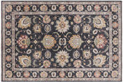 6and039 3 X 9and039 3 Peshawar Hand Knotted Wool Area Rug - P8846