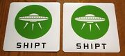 2 Shipt Magnetic Car Vehicle Signs 8 X 8 Free Shipping Grocery Shopping