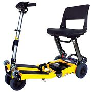 Freerider Fr168-4it Standard Luggie Folding Travel Mobility Scooter Portable