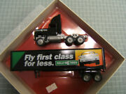 Winross Kelly Tires Fly First Class For Less Mib Ford Cl9000 Tractor