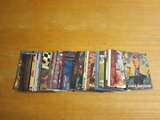 Non-sports Card Lot Of 100 Trading Cards W/inserts Garfield, Nintendogs+++