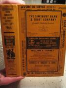 1964 Avon-simsbury-east Gramby-gramby Connecticut Price And Lee Directory Vol 1