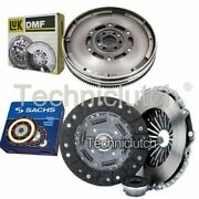 Sachs 3 Part Clutch Kit And Luk Dmf For Audi A6 Berlina 1.9 Tdi