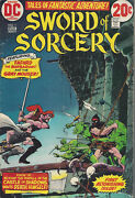 Sword And Sorcery 1 - 5 Complete Set Vg/fn Bronze Age 1973 Lieber Wrightson