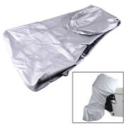 Full Outboard Boat Motor Engine Cover Dust Rain Protection Fit For 40-50hp Motor