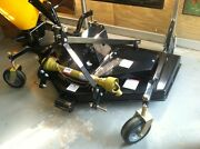 New Premier 6and039 72 Finish Lawn Grass 3 Pt Grooming Mower Tractor Fits Kubotals