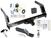 Trailer Tow Hitch For 84-88 Toyota Pickup Deluxe Package Wiring 2 Ball And Lock