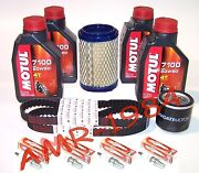 Set Ducati S4 Rs 1000 From 2006 A 2008 Motul 7100 +filters+ Belts+candles