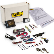 Complete 2-way Lcd Remote Start W/ Keyless Entry Kit For 2008-2012 Lincoln Mkz