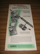 1951 Print Ad Airex Fishing Reels,lines,rods,lures Lionel Corp New York,ny