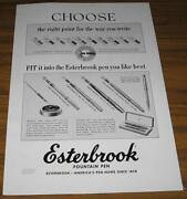 1952 Vintage Adesterbrook Fountain Penschoose The Right Point