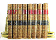 The Pictorial Edition Of The Works Of Shakespere 8 Vo Set Antique Leather Books
