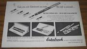 1955 Adesterbrook Fountain Pens30 Different Points