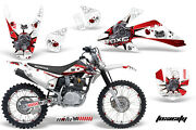 Graphics Kit Decal Wrap + Plates For Honda Crf150 Crf230f 2008-2014 Toxic R W