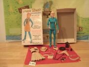 Marx Johnny West Series- Jane West The Movable Cowgirl + Box+aceess.lot E- 95