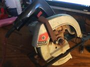 Vintage 7-1/4 Circular Saw Usa Black And Decker 7307 Broken And Not Working