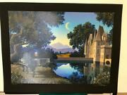 Jim Buckels Nocturne Hand Signed Limited Edition Serigraph Black
