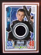 Dr Doctor Who Alien Attax 50th Anniversary The Unit 0008/1460 Costume Card