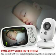 New Color Video Monitor Baby High Resolution 3.2 Inch Baby Security Night Vision