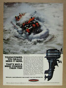 1975 Mercury Outboards Grand Canyon Expeditions Raft Photo Vintage Print Ad