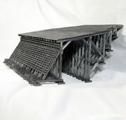 Timber Mountain Snowshed O Model Railroad Structure Unpainted Wood Kit Hl201o