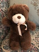 9 Vintage Brown Teddy Bear A To Zoo Toys Bunch Lovely Stuffed Plush Toy A7