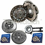 2 Part Clutch Kit And Sachs Dmf With Sachs Csc For Mazda 2 Hatchback 1.4 Cd