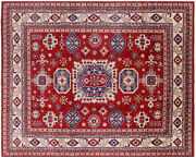 8and039 1 X 10and039 Kazak Hand Knotted Rug - P5968