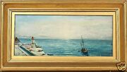 Charles Henry Miller N.a. American 1842-1922 Oil Painting Long Island Ny