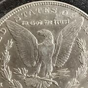 1901 - P Morgan Silver Dollar Ungraded And Uncertified
