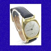 Vintage And Retro 14k Gold Swiss And Co 15j Wrist Watch 1957