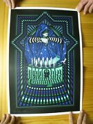 Pearl Jam Poster Silk Screen Signed And Numbered Worcester Ma 2016