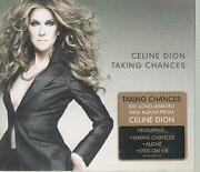 Celine Dion Taking Chances Cd Europe Columbia 2007 16 Track Fold Out Card Sleeve