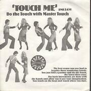 Master Touch Touch Me 7 Inch Vinyl Uk Emi 1976 Demo B/w Slow Bump Pic Sleeve