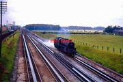 Photo Lms Black Five 44822 At Lea Road Water Troughs 1965 Travelling Light Engi