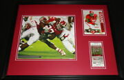 2008 Alabama Vs W Kentucky Framed 16x20 Photo And Repro Ticket And Program Cover Set