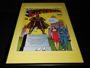 Superman 16 Framed 12x18 Cover Poster Display Official Rp Lois Lane