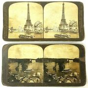 Keystone And H.c. White Co. Stereo Optic View Cards City/landscapes 13 Pc. Lot