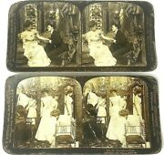 Keystone And H.c. White Co. Stereo Optic View Cards Wedding/children 18 Pc. Lot