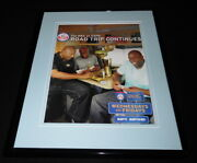 Nba On Espn 2010 Framed 11x14 Original Advertisement Magic Johnson